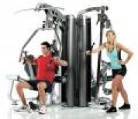 AP-7400 4-Station Multi Gym System (Nylon Pulley's)