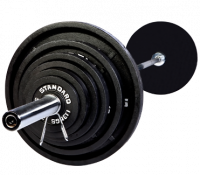 Olympic 300lb. Weight Set