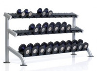 PPF-754 3-Tier Saddle Dumbbell Rack
