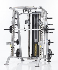 Smith Machine/Half Cage Ensemble CSM-725WS